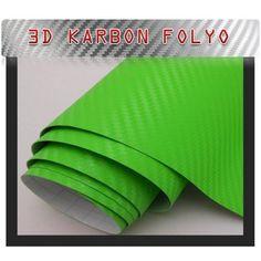 Yeşil Karbon Folyo 100CmX127Cm
