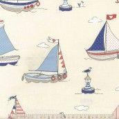 Fryett's Fabrics - Regatta Blue