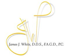 James White DDS logo for Chayra Communications - 2000