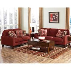 Awesome Darby   Spice Modern Metro Stationary Loveseat By Signature Design By  Ashley   Becker Furniture World   Love Seat Twin Cities, Minneapolis, St.