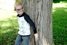 (9) Name: 'Sewing : Back-To-School Raglan Sweashirt