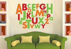 Image result for vinyl alphabet stickers