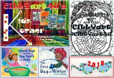 WOO HOO! CILLYart4U's KIDS KORNER for January 2018 is finally up for children, families, educators, English Language Learners, and more to enjoy...thanks to a temporary computer system. Check out the family-friendly NEW YEAR and wintry children's books, games/activities, arts & crafts, original MER-coloring pages by CILLYart...and our latest TWIN TAILS Book Series update! Go to our website and click on the KIDS KORNER link:  http://cillyart4u.wixsite.com/cillyart4u/kidskorner