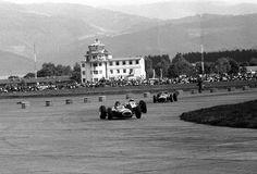 Tony Maggs (BRM) Grand Prix d'Autriche - Zeltweg -1964