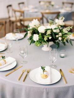 The Grandeur House Wedding with a Modern Farmhouse Style Used Wedding Decor, Wedding Decorations, Table Decorations, Wedding Ideas, Modern Farmhouse Style, Blue Wedding, Favorite Color, Real Weddings, Flower Arrangements