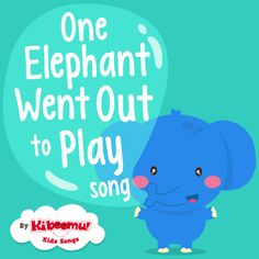 "Practice counting with ""One Elephant Went Out to Play"" song!  #kidsongs #preschool"