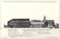 Cross Section of the Old Basilica