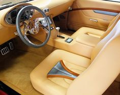 The ride and smell of Ray Ziglari's ZZ572 powered 1969 Chevy Camaro is complemented by a sculpted custom leather upholstered interior with modern gauges and electronics