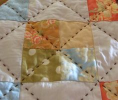 notes of sincerity: a little hand quilting.
