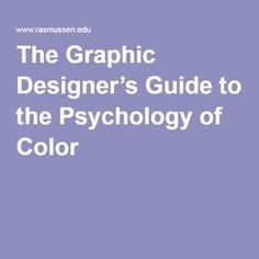 Color psychology is the study of how color affects our emotions and behaviors. Color can determine our moods, how we feel, and how we act. Companies take this into action to drive a certain action from their consumer base - smart. We connected with graphic design professionals to understand their color theory - check it out!