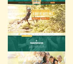 Single Page Experience Page by Sean Hennessey