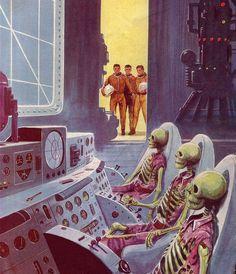 Utopía Zukunftsroman – arte de tapa #299-4