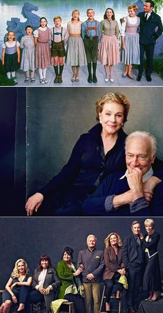 """""""The sound of music"""" - Then & Now - kueduku Sound Of Music Quotes, Sound Of Music Movie, Movie Stars, Movie Tv, Sound Of Music Costumes, Old Movies, Vintage Movies, Great Movies, Golden Age Of Hollywood"""
