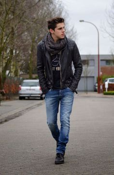 33 Simple Winter Men Outfits with Sneakers 2018 559dba583