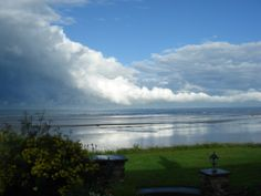 Six exclusive 300 year old luxury thatched holiday cottages in Ireland. Set on the beach front in the tranquil surroundings of large organic flower gardens. Cottages Ireland, Luxury Holiday Cottages, Luxury Holidays, Night Skies, Irish, Sunrise, Clouds, Sky, Beach
