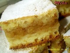 Apple Cake Recipes, Sweets Recipes, Cooking Recipes, Romanian Desserts, No Cook Desserts, Food Cakes, Chocolate Desserts, Christmas Baking, Coffee Cake