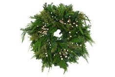 "20"" Fir & Cedar Wreath"