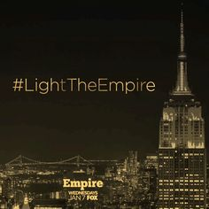 Hello NY! Empire & iHeartRadio will light up the night with a spectacular light show on the Empire State Building's iconic tower feat. a custom mix of Timbaland's greatest hits! The show begins TONIGHT at 8pm, don't miss it! #LightTheEmpire