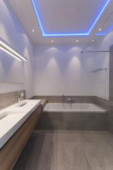 A lighting idea for contempporary bathrooms | Modern LED Lighting ...