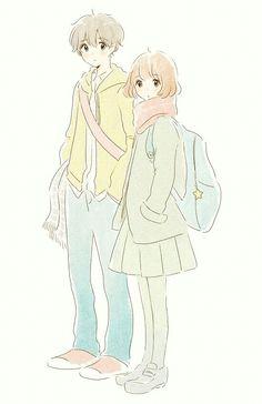 anime, kawaii, and anime girl图片 Manga Drawing, Manga Art, Manga Anime, Anime Art, Kawaii Anime, Kawaii Art, Anime Love Couple, Cute Anime Couples, Desenhos Gravity Falls