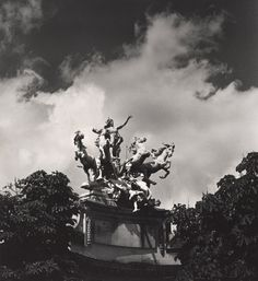 Max Dupain (Born Australia 1911, died 1992) Untitled (mythological sculptural group at the Grand Palais) 1978 From The Paris 'private' series