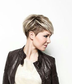 hairstyle for you; attenuate brownie hair! You can additionally attending amazing with these altered abbreviate haircuts, which are acclaimed by acclaimed women in contempo times.Undercut abbreviate beard can be an accomplished idea, abnormally on hot summer days. STYLISH PIXIE UNDERCUT HAIR IDEAS FOR 2018