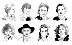 Warsaw of Women, Maria Skłodowska-Curie, Maria Morska, Rachela Auerbach, Irena Krzywicka, Zofia Stryjeńska, Agnieszka Osiecka, Bronka Grynberg, Emilia Plater