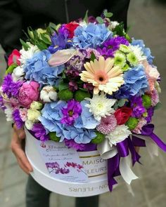 Beautiful Bouquet Of Flowers, Beautiful Flower Arrangements, Amazing Flowers, Beautiful Roses, Floral Arrangements, Beautiful Flowers, Pink Rose Flower, Flower Bird, Flower Box Gift