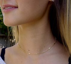 Dainty Beaded Bar Chain Choker, Layering Choker Necklace, Delicate Gold Necklace, Gift For Her Gold Chain Choker, Delicate Gold Necklace, Layered Choker Necklace, Layered Chokers, Short Necklace, Beaded Choker, Necklace Types, Gold Rings Jewelry, White Gold Jewelry