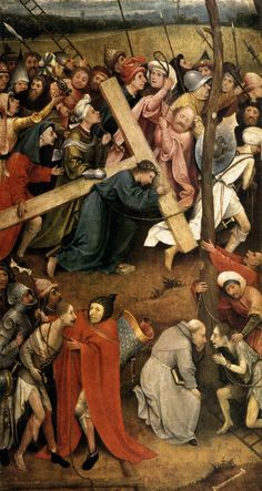 Christ Carrying the Cross - Hieronymus Bosch, 1485