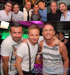 The 2013 White Party Swan Song Party at Twist on Miami Beach that featured DJ Mika playing to a packed dancefloor.