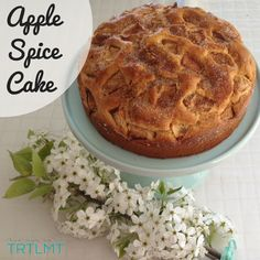 This is a recipe that was featured in The 4 Blades Magazine - Afternoon Tea Issue back in November last year. When I created this I just knew it would n Apple Tea Cake, Apple Spice Cake, Baking Recipes, Cake Recipes, Bellini Recipe, Thermomix Desserts, Spiced Apples, Apple Desserts, Cake