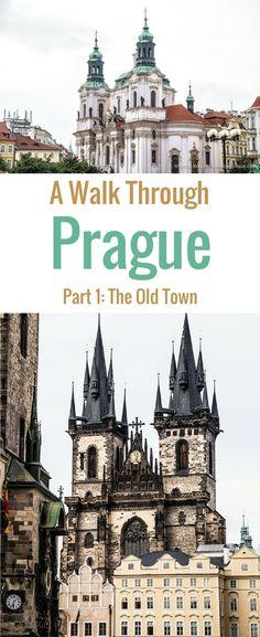 A Walk Through Prague- The Old Town (Blog Post, travelyesplease.com) | #Prague #CzechRepublic #Europe