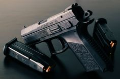 RAE Magazine Speedloaders will save you! Shooting Guns, Shooting Range, Cz P07, Survival Gear, Tactical Survival, Tactical Gear, Ar Rifle, Tactical Shotgun, 9mm Pistol