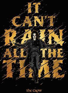 Crow Movie, Movie Tv, Brandon Lee, Movies And Tv Shows, The Darkest, Avengers, Comics, Movie Posters, Darkness