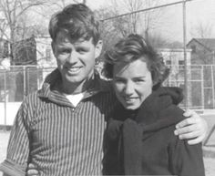 Bobby and Ethel Kennedy