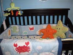 Cute ocean themed nursery stuff