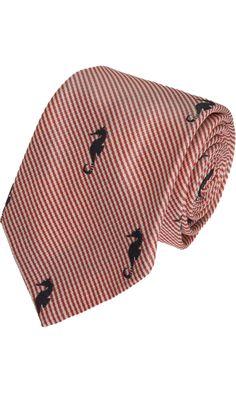 Thom Browne Seahorse Tie