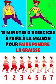 15 minutes of exercises to do at home to melt fat - 15 Min Workout, Best Cardio Workout, Gym Workouts, Best Weight Loss, Weight Loss Tips, Yoga Fitness, Health Fitness, Pilates Moves, Relaxing Yoga