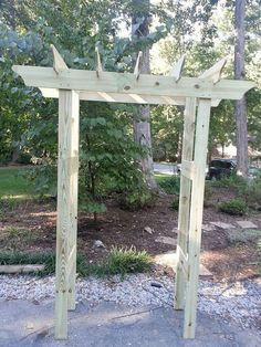 Instructions For Pergola/arbor For Under $20
