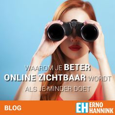 Meer online zichtbaarheid? Lees mijn strategie.