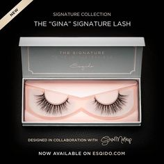 A closer look at the Gina Signature Lash! Designed in collaboration with @ginashkeda, this lash is wispy perfection. Limited quantities so get yours today at www.esqido.com/shop _______________________________________________ #esqido #esqidolashes #makeup #beauty #mua #makeupartist #falselashes #bestlashes #lashaddict #makeupaddict #makeupaddiction #gina #ginalash #ginashkeda #ginsmakeup #minklashes #motd #falsies #fakelashes