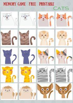 Animals - #Memory #game free printables