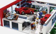 LEGO - Ferrari-Showroom