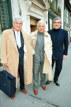 With his brothers Leonard and Gerry on his birthday.