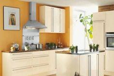 El naranja se impone en cocinas modernas - Decoideal