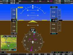 Garmin G1000 Glass Cockpit - Primary Flight Display - PFD