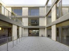Sergison Bates Architects, David Grandorge · Care home, Huise-Zingem, Belgium