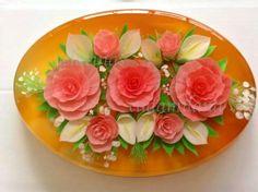 Rosas y alcatraces. Grupo Gelatiarte
