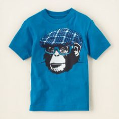 monkey graphic tee.. Nick is going to love this!